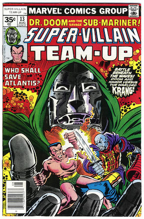 Super-Villain Team-Up #13 Marvel 35 Cent Price Variants