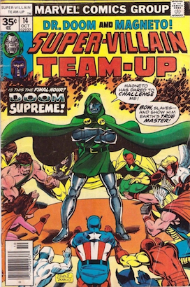 Super-Villain Team-Up #14 Marvel 35c Price Variant