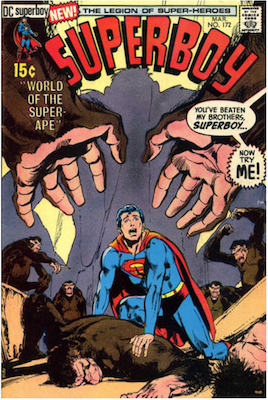 Superboy #172. Click for current values.