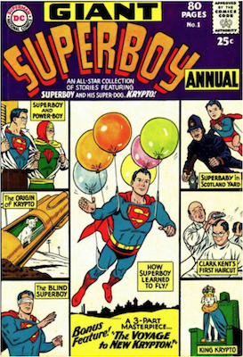 Superboy Annual #1. Click for current values.