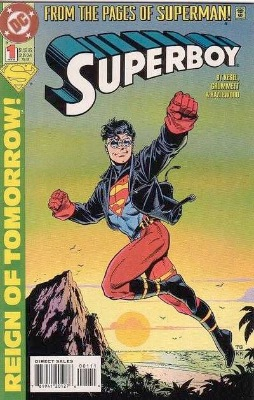 Origin and First Appearance, Knockout, Superboy (vol. 4) #1, DC Comics, 1994. Click for value