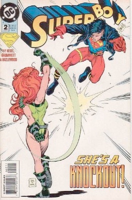 Origin and First Appearance, Scavenger (Superboy), Superboy (vol 4) #2, DC Comics, 1994. Click for value