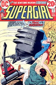 Kara Zor El as SuperGirl in #1 from 1972