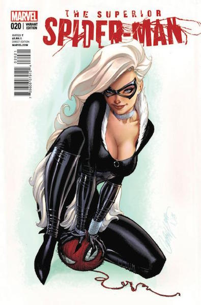 #40: Superior Spider-man 20 Campbell Variant (2013). Click for values