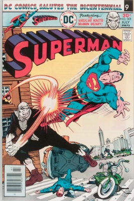 Origin and First Appearance, SKULL, Superman #301, DC Comics, 1976. Click for value