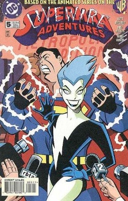 Origin and First Appearance, Livewire, Superman Adventures #5, DC Comics, 1997. Click for value