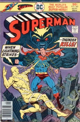 Origin and First Appearance, Atomic Skull, Superman #303, DC Comics, 1976. Click for value