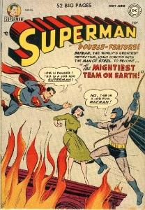 Superman Comics #76: Batman Crossover