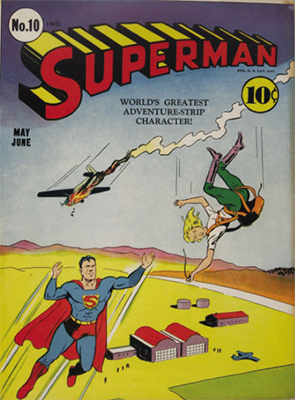 Superman #10: first 'bald' Luthor in comics. Click for value