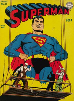 Superman #21. Click for values