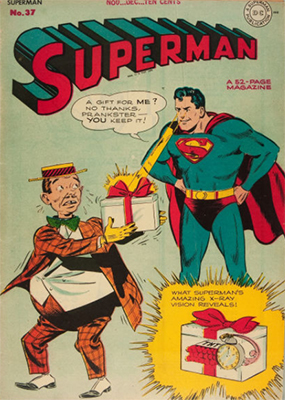 Superman #37. Click for values