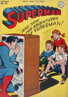 Superman comic books #39. Click for value