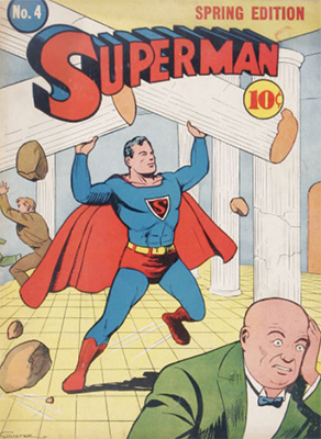 Superman #4: Second Lex Luthor appearance. Click for values