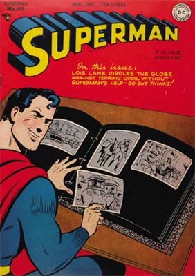 Superman comic books #49. Click for value