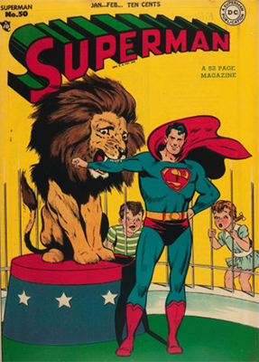 Superman #50. Click for values