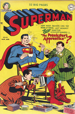 Superman comic #69. Click for values
