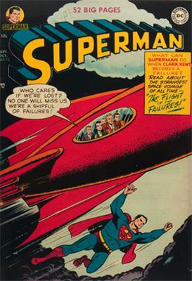 Superman #72. Click for values