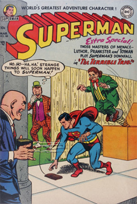 Superman #88: Lex Luthor cover, teams up with Toyman and Prankster. Click for values