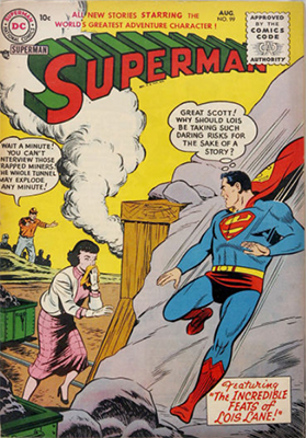 Superman #99. Click for values