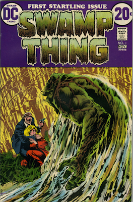 Swamp Thing #1 from 1972