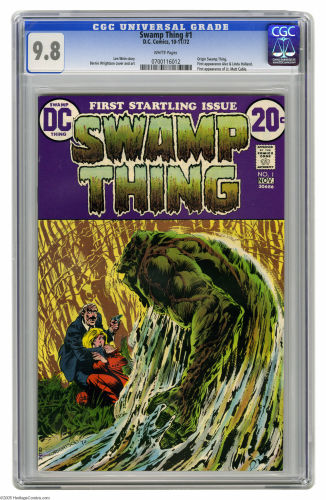 While a CGC 9.6 will look almost as nice, this book is much more appealing in CGC 9.8 and there are far fewer around. Click to buy yours