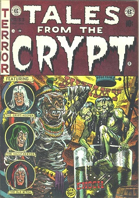 Tales from the Crypt #33 (1952): Origin of Crypt Keeper. Click for value