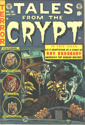 Crypt of Terror / Tales from the Crypt Comics Price Guide