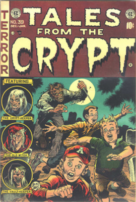 Tales from the Crypt comics (formerly Crypt of Terror)