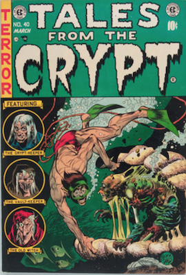 Tales from the Crypt #40. Click for current values.