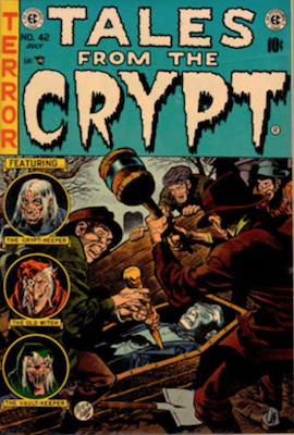 Tales from the Crypt #42. Click for current values.