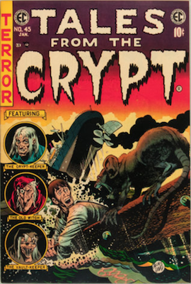 Tales from the Crypt #45. Click for current values.