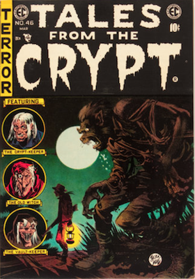 Tales from the Crypt #46. Click for current values.