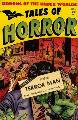 Tales of Horror #1 (1952): First issue in Golden Age horror comic books series. Click for value