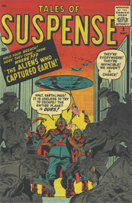 Tales of Suspense #3. Click for current values.