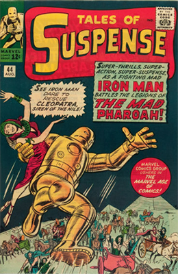 Tales of Suspense #44. Click for values