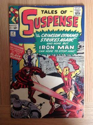 Tales Of Suspense #52 Value: this copy looks very clean, probably about a 6.5 or 7.0