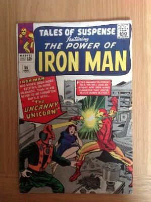 Tales Of Suspense #56 Value: crease on the front cover and some edge issues makes this somewhere in the 5.0 to 6.0 range