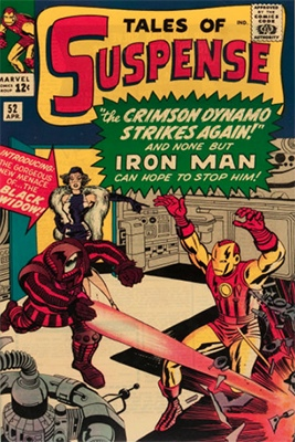 Tales of Suspense 52 is an example of a comic book which has jumped in value due to movie appearances. In this case, it's Black Widow's first appearance. Click for values