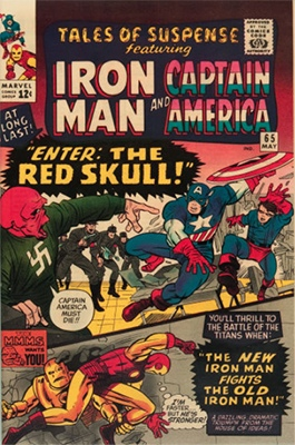 Tales of Suspense #65 (May 1965): 1st Silver Age Appearance of the Red Skull. Click for value