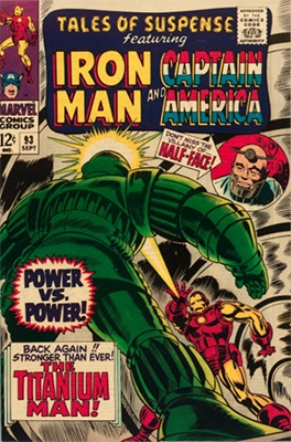 Origin and First Appearance, MODOK, Tales of Suspense #93, Marvel Comics, 1967. Click for value