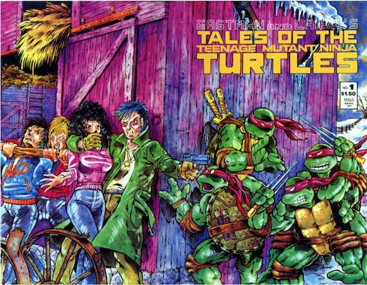 Tales of the Teenage Mutant Ninja Turtles #1 (1987). Click for values