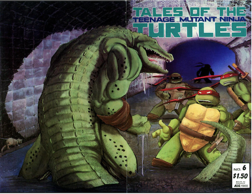 Tales of the Teenage Mutant Ninja Turtles #6 (1987), Click for values