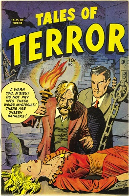 Tales of Terror #1 (1952): First in Golden Age Horror comic books series. Click for value