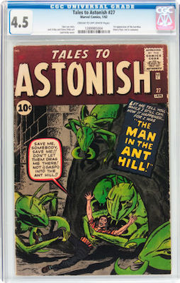 Tales to Astonish #27 is expensive and rare in high grade. Find a VG+ copy and buy it. Click to search!