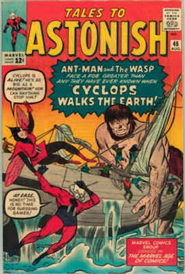 Tales to Astonish 46. Click for value