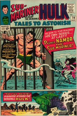 Tales to Astonish 70. Click for values
