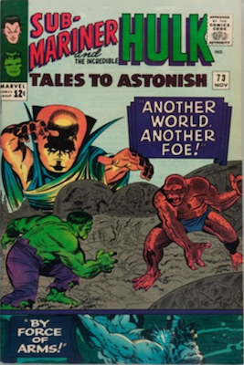 Tales to Astonish 73. Click for values