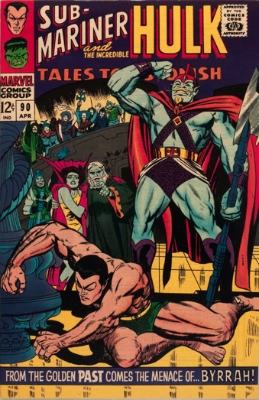 The Abomination (First Appearance: Tales to Astonish #90, April, 1967). Click for value