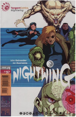 Tangent Comics: Nightwing (1997). Click for values.