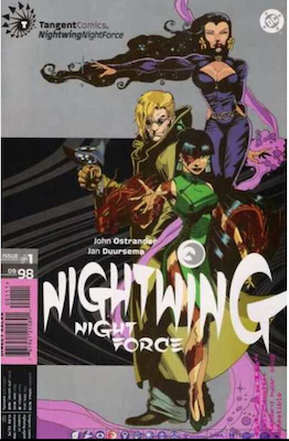 Tangent Comics: Nightwing: Nightforce (1998). Click for values.